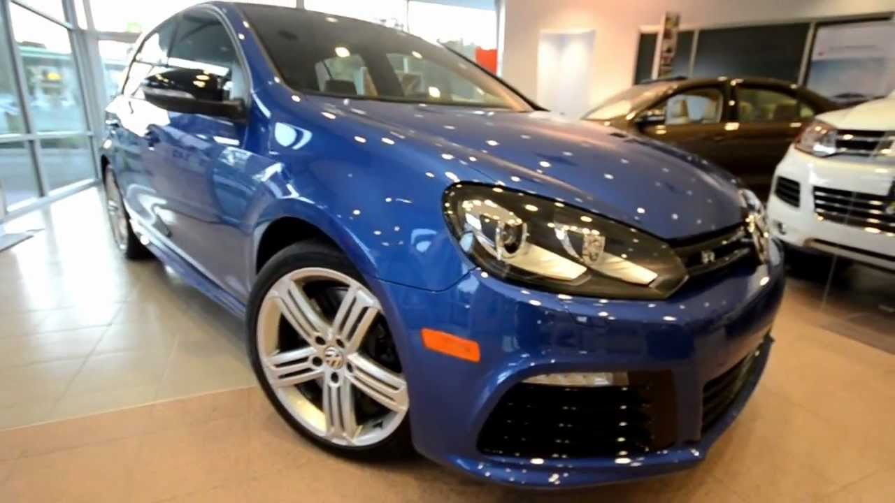 Get To Know The 2013 Volkswagen Golf R Volkswagen 4 Door