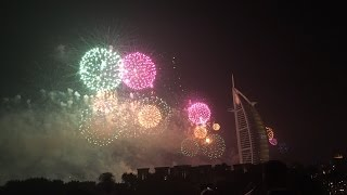 Dubai NewYear Celebration 2016 Burj Al Arab