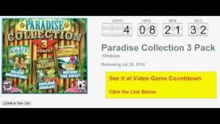 Paradise Collection 3 Pack PC Countdown