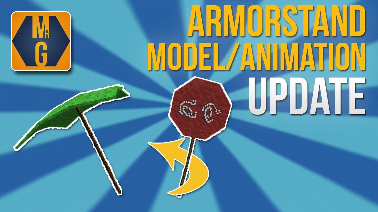 Minecraft Armorstand Modeler Animator Update Rotations