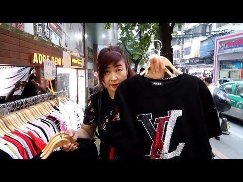 Fake Tshirts At Cheap Price China Night Market | China Fake Market
