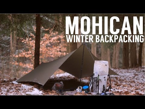 Mohican Winter Backpacking - Solo Backpacking in Mohican State Forest