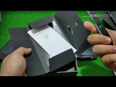 unboxing xiaomi blackshark (indonesia) global version dapet plus plus nya