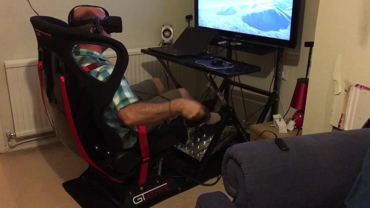 Aquila Bird Flight Simulator with Next Level Racing Motion Platform V3