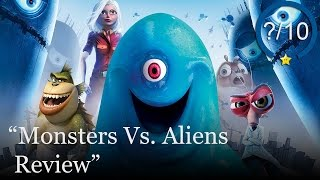 Monsters Vs. Aliens Review (Video Game Video Review)
