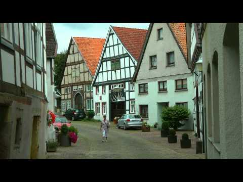 GERMANY Blomberg, North Rhine Westphalia (hd-video)
