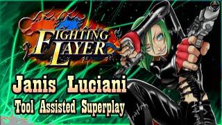 【TAS】FIGHTING LAYER (ARCADE) - JANIS LUCIANI