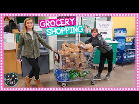 Thumbnail: KIDS DO ALL THE GROCERY SHOPPING!