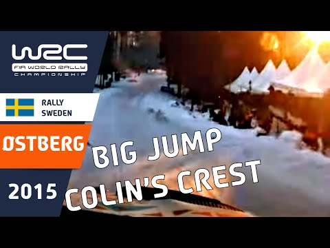 WRC Rally Sweden 2015: Onboard SS18 Mads Ostberg