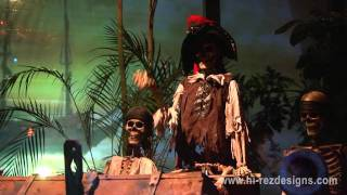 HI-REZ DESIGNS: PIRATES OF THE CARIBBEAN - 2011 HALLOWEEN HOME HAUNT DISPLAY
