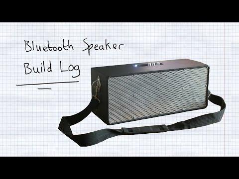 Homemade Bluetooth Boombox - Build Log