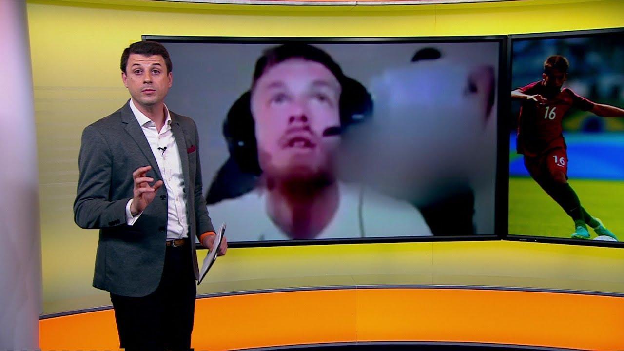 لاعب جزائري يعري مؤخرته على الانترنت ويستبعد من المنتخب