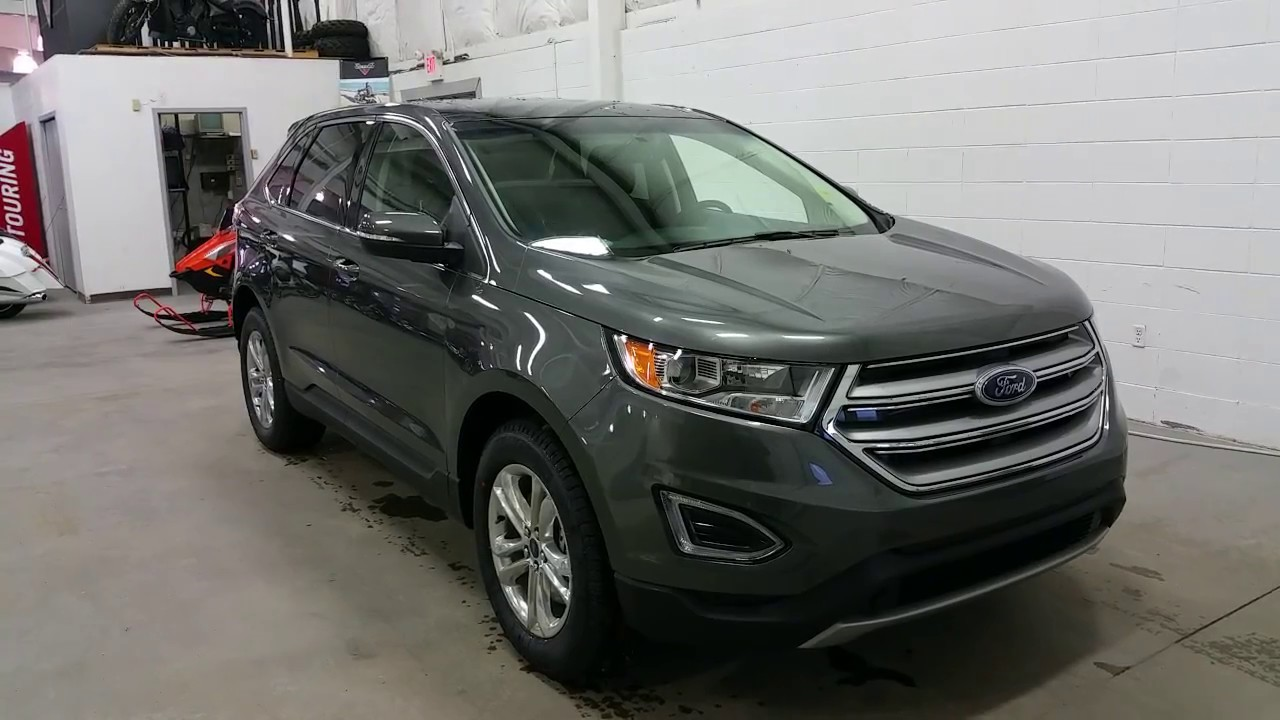 Ford Edge Sel W Polished Rims Sync  Block Heater Review Boundary Ford