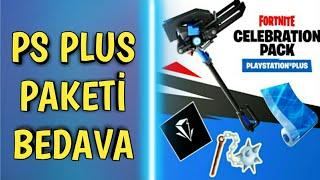 FORTNİTE YENİ GELECEK OLAN PLAYSTATİON PLUS PAKETİ - BEDAVA !!