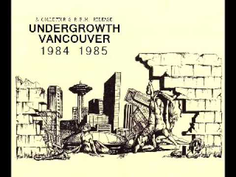 UNDERGROWTH 1984 & 1985 (TAPES)  Vancouver BC Canada