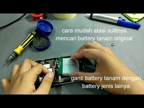 [Akalin] Ganti battery tanam pada sharp aquos 304sh