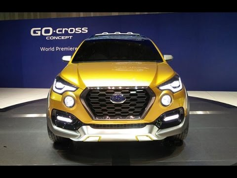 NEW 2017 UPCOMING DATSUN GO CROOS NEW  2017