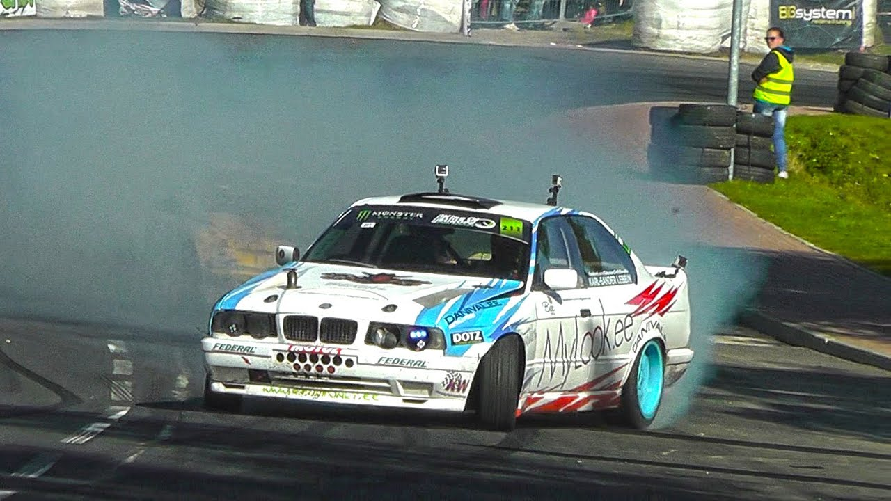 bmw e34 v8 turbo touge drift hd youtube. Black Bedroom Furniture Sets. Home Design Ideas