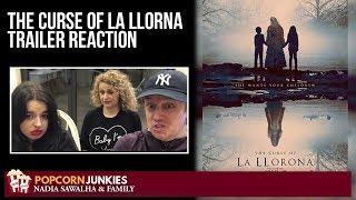 The Curse of La Llorona (Official Trailer 2) Nadia Sawalha & Family Reaction