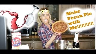 Make a pecan pie with me!!!!