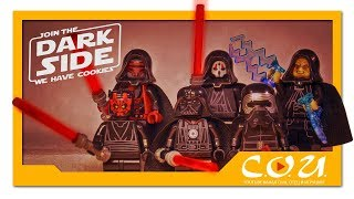 LEGO фигурки | STAR WARS | Darth Vader, Palpatine, Revanchist, Kylo Ren, Darth Maul, Darth Nihilus
