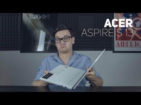 Acer Aspire S 13 bemutató