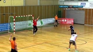 """SG LVB Leipzig vs. HC Aschersleben """"Alligators"""" 33:29 (19:15) - 4-Minuten-Spielausschnitt"""