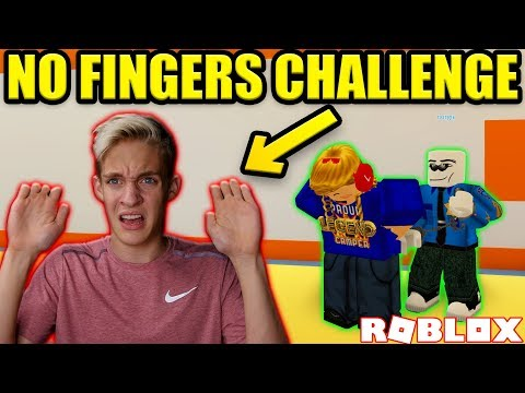 ULTIMATE NO FINGER CHALLENGE IN ROBLOX JAILBREAK!