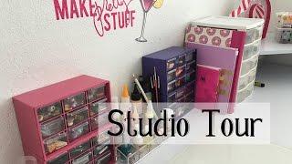 Craft room tour - Studio tour