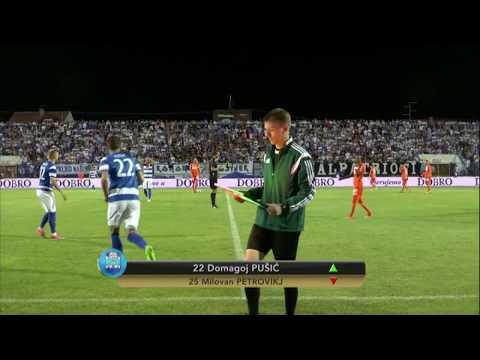HNTV sažetak: OSIJEK vs AUSTRIA BEČ 1:2 (prva utakmica play-offa Europske lige)