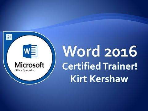 Microsoft Word 2016: Free Word Templates