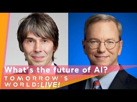 LIVE: Q&A with Professor Brian Cox  What's the future of artificial intelligence?