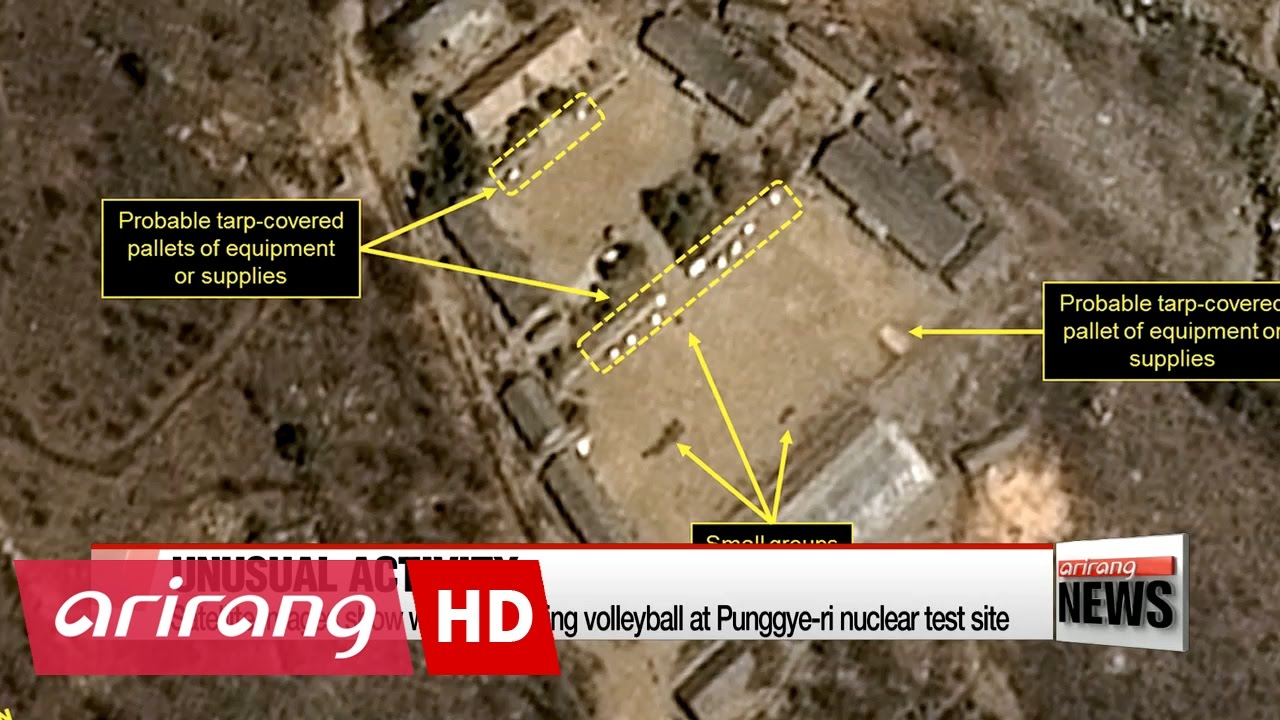 Satellite Images Show Workers Playing Volleyball At N Korean