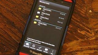 SMS Blocker Pro for BlackBerry 10