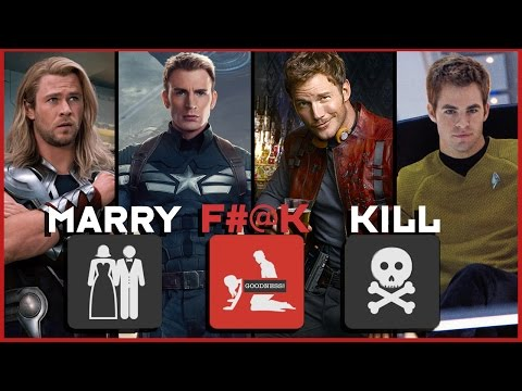 Marry, F#@k, Kill? Chrises of Marvel! w/ Cinema & Spice!