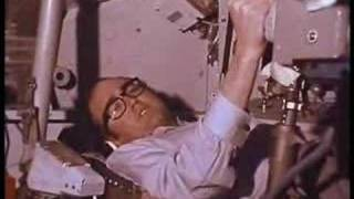 James Burke takes us Inside the Apollo Command Module