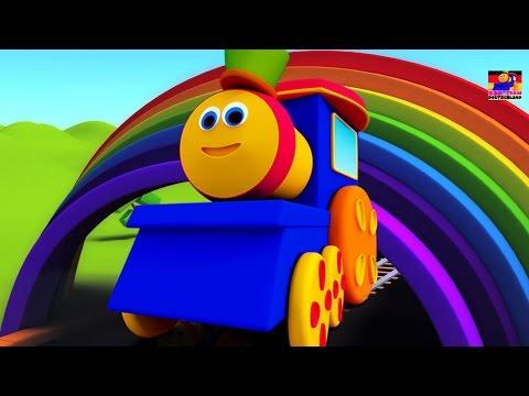 Bob der Zug   bob Farbe Fahrt Lied für Kinder   lernen Farben für Kinder