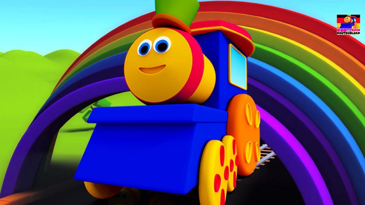 bob der zug bob farbe fahrt lied f r kinder lernen farben f r kinder youtube. Black Bedroom Furniture Sets. Home Design Ideas