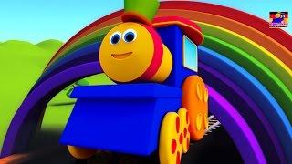 Bob der Zug | bob Farbe Fahrt Lied für Kinder | lernen Farben für Kinder