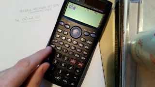 Modulo-Berechnung mit dem Taschenrechner