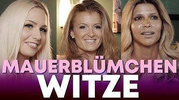 MAUERBLÜMCHEN-WITZE   Lucy Cat, Micaela Schäfer & RoxxyX   Randgruppenwitze mit Randgruppen