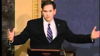 "Marco Rubio Says ""Save The Country"" & John Kerry Questions him"