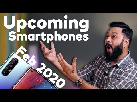 Top 10+ Best Upcoming Mobile Phones In February 2020 ⚡⚡⚡