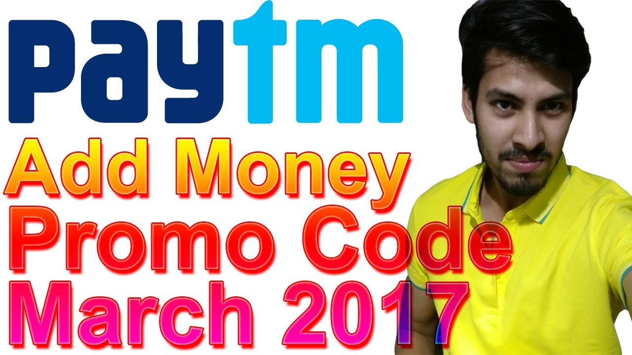 paytm promo code for adding money to wallet today