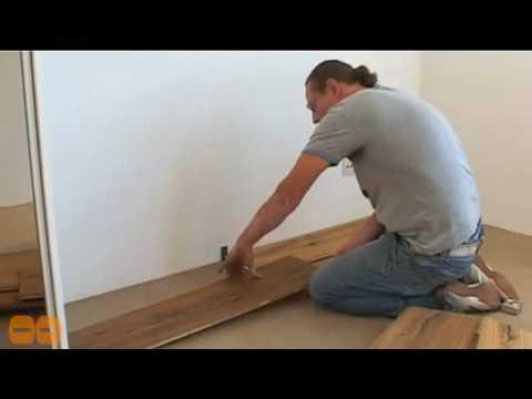 Houten Vloeren Leggen : Houten vloer leggen met dennis mulder youtube