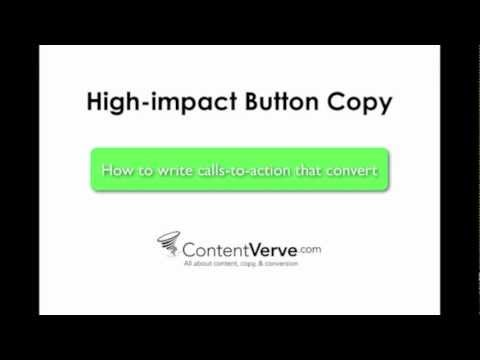 High-impact Button Copy - How to write calls-to-action that convert