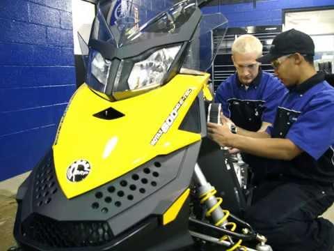 ATCC Marine, Motorcycle, & Powersports Technician Program Video
