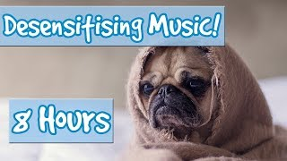 Desensitising Music! Music with Sounds to Desensitise Dogs to Noises, Comfort Dogs, Help Anxiety! 🐶 thumbnail