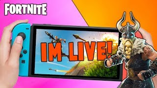 Pro Fortnite Nintendo Switch Player // Pro solo Matches // Squads With Subscribers + Tips!!