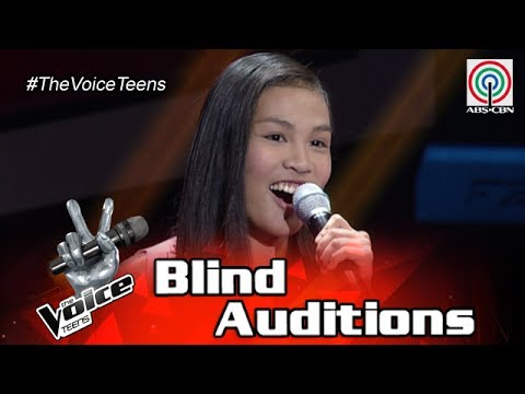 The Voice Teens Philippines Blind Audition: Christy Lagapa  Baliw